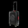 TecknoMonster Logo Carbon nagy bőrönd