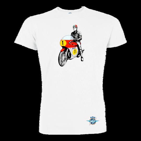 Reparto Corse Vintage Rider fehér póló